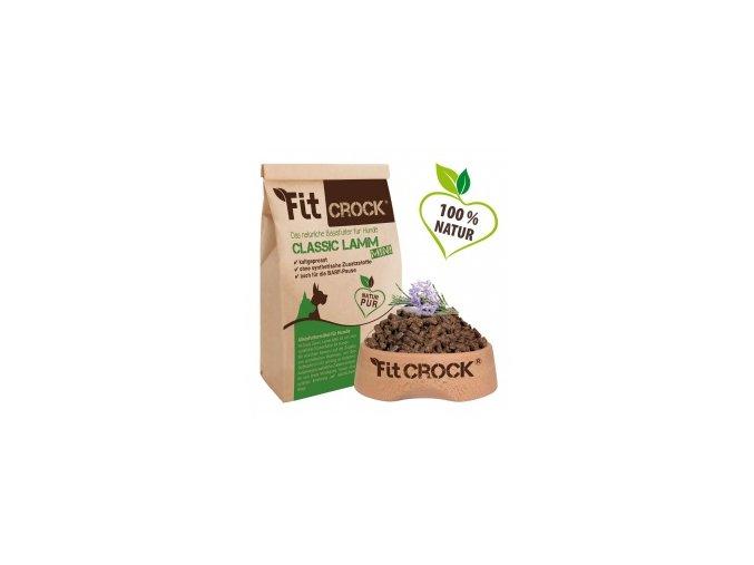 Fit-Crock Classic Jehněčí - granule lisované za studena