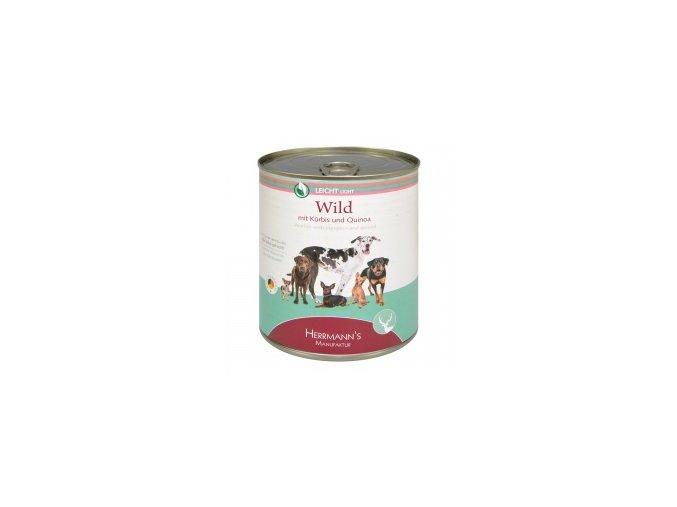Konzerva pro psy - Divočina s dýní a quinoou 800 g