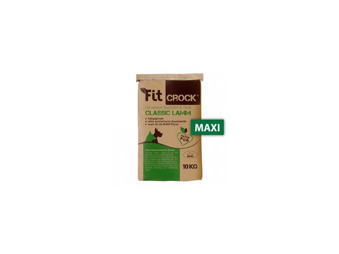Fit-Crock Classic Jehněčí - granule lisované za studena - MAXI 10 kg