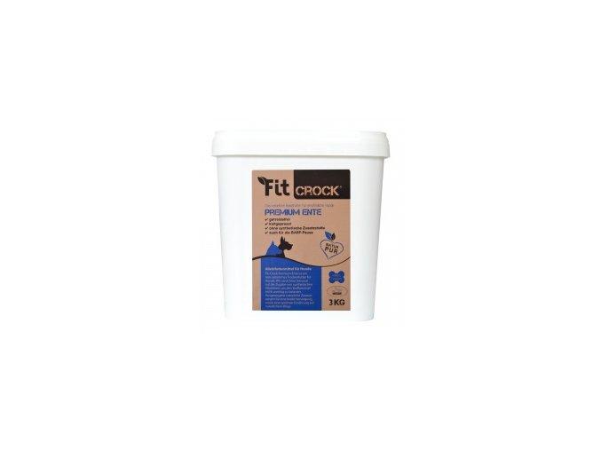 Lisované granule Fit-Crock Premium Kachní - MIDI 3 kg