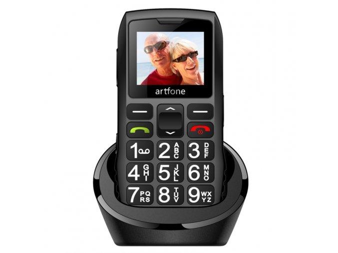 novy mobilni telefon pro nedoslychave a seniory v cestine