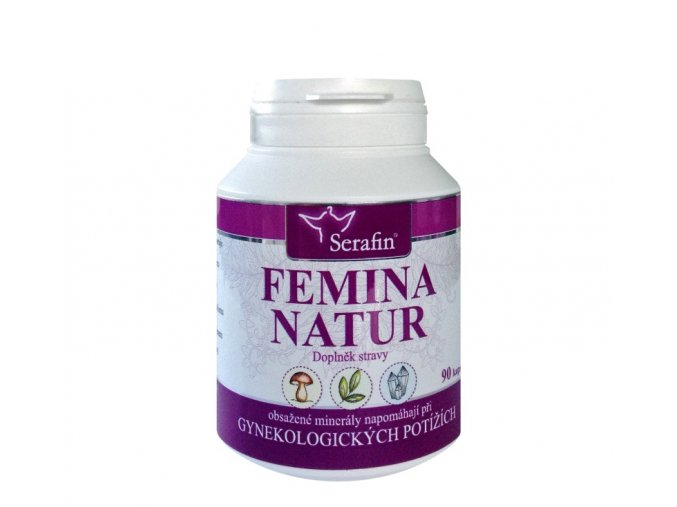 23511 serafin femina natur prirodni kapsle 90 kapsli