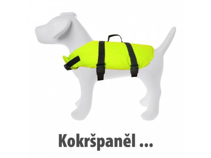 plovaci vesta pro psa velikost 2 original
