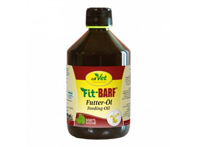 cdvet fit barf lneny krmny olej 500 ml original