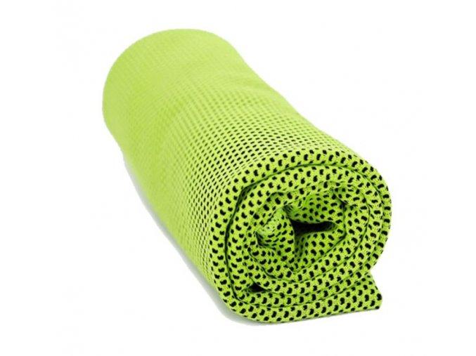 Chladící ručník zelený 32 x 90 cm - SJH 540C