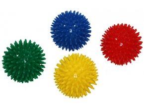 Masážní míček ježek 8 cm - SJH 14 modrá