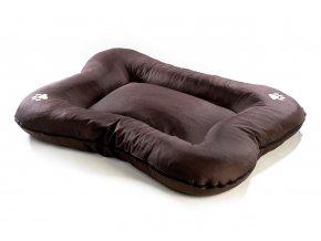 Matrace pro psa Argi z polyesteru - tmavě hnědá - 110 x 90 cm