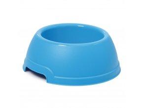 Plastová miska s protiskluzem Argi - modrá - 400 ml