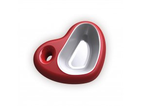Plastová miska Argi - srdce - 400 ml
