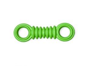 Gumová hračka pro psy Argi - typ 2 - zelená - 17 x 5 cm