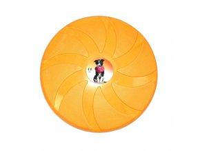Frisbee - létající talíř Argi - žlutý - 23,5 cm