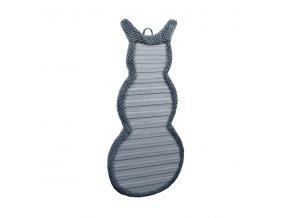 Škrabadlo pro kočky Argi závěsné - šedé - 64 x 30 cm