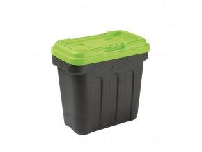 Maelson box na granule - černá / zelená - 41 x 25 x 33 cm