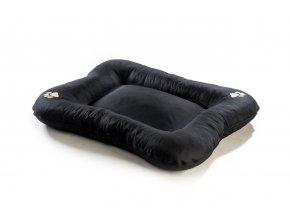 Matrace pro psa Argi z polyesteru - černá - 110 x 90 cm