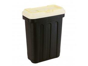Maelson box na granule - černá / slonová kost - 54 x 31 x 58 cm