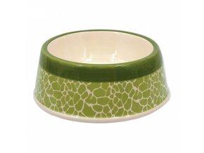 keramicka miska zelena zirafa 20 5 cm 700 ml original