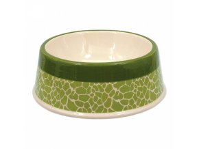 keramicka miska zelena zirafa 25 5 cm 1200 ml original