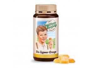 Zázvorové bonbony s pomerančem BIO Sanct Bernhard 170 g