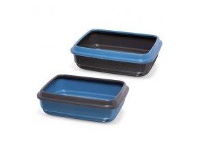 imac kocici zachod z recyklovaneho plastu modry d 50 x s 40 x v 14 5 cm