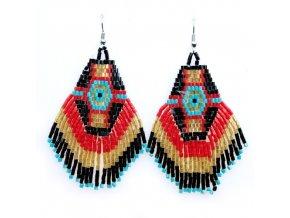 červenotyrkysové