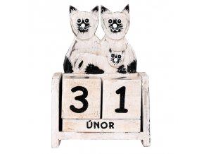 kalendar kocky s kotetem