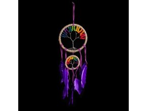 fialovej strom