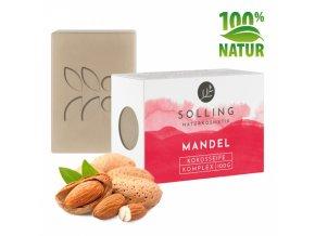 prirodni mydlo mandlove biokvalita 100 g original