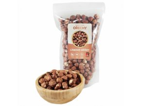 Lískové ořechy - 1000g