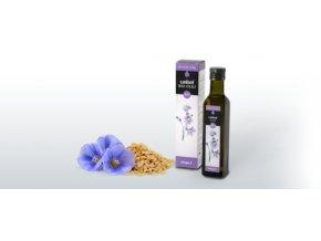 Health Link Lněný olej BIO RAW 250ml