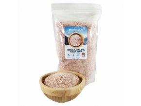 Himalájská sůl růžová jemná - 1000g