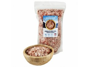 Himalájská sůl růžová hrubá - 1000g
