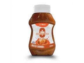 GymBeam Bezkalorický sirup Salted Caramel 350ml