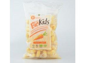 Biokids Dětské bezlepkové křupky s mrkví BIO 55g