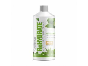 GymBeam ReHydrate 1000 ml - citron - limetka