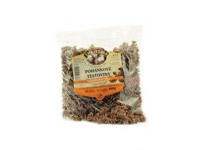 Natural Jihlava Pohankové celozrnné těstoviny vřetena 250g