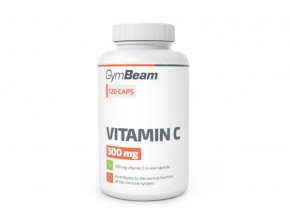 GymBeam Vitamin C 500 mg 120 kapslí