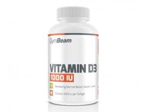 GymBeam Vitamín D3 1000 IU 120 kapslí