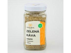 Natural Jihlava ZELENÁ Káva mletá 230 g