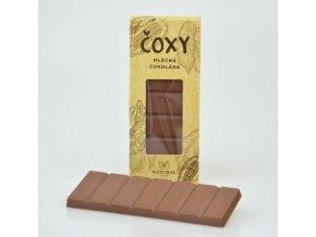 Natural Jihlava ČOXY - mléčná čokoláda s xylitolem 50g
