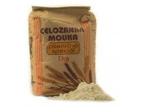 Natural Jihlava Celozrnná mouka pšeničná speciál 1000g