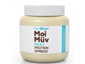 GymBeam Proteinová pomazánka MoiMüv Milky 400g