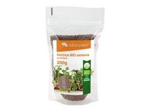 Hořčice BIO - semena na klíčení 200g