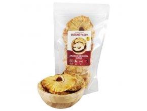 Ananas sušený - kroužky - 100g