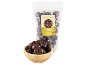 Jahody mrazem sušené v hořké čokoládě - 500g
