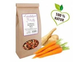 Zelenina pro psy a kočky - Sušená směs - 100% bez obilnin