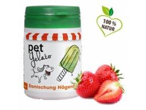 Zmrzlina pro psy - Jahoda 50 g - cdVet