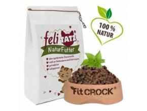 Granule pro kočky lisované za studena - Fit-Crock Cat 700 g