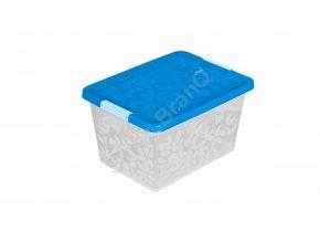 Jasmine- úložný kontejner/box s víkem 22l