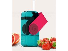 Juicy drink box JB300 290ml červený