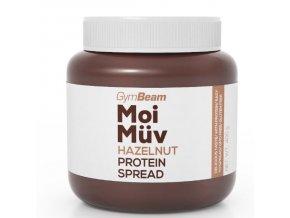 GymBeam Proteinová pomazánka MoiMüv Hazelnut 400g